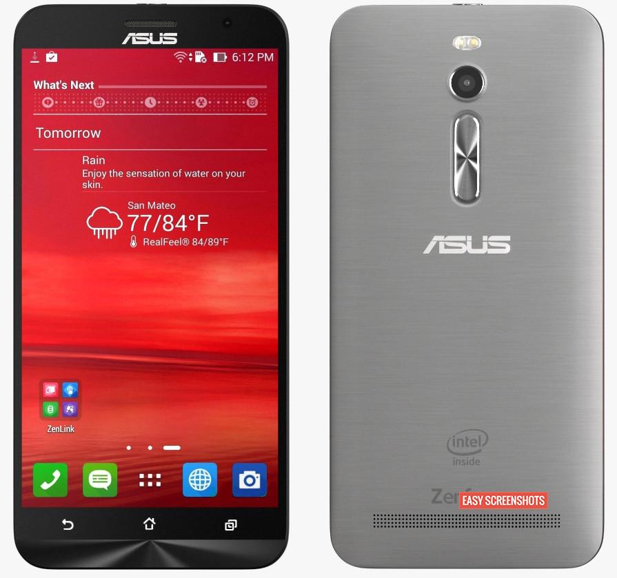 Step by Step Procedure to Take Screenshot On Asus Zenfone 2