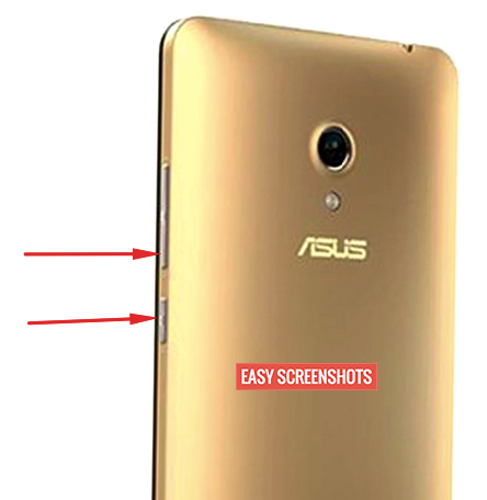 Asus Zenfone 5 Easy Screenshot Method