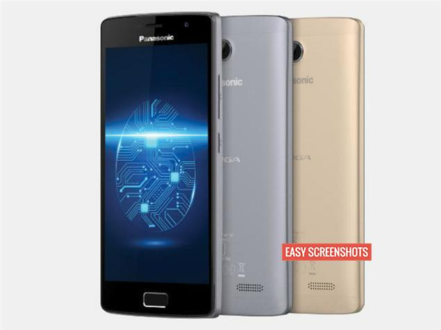 Take Screenshot On  Panasonic Eluga Tapp