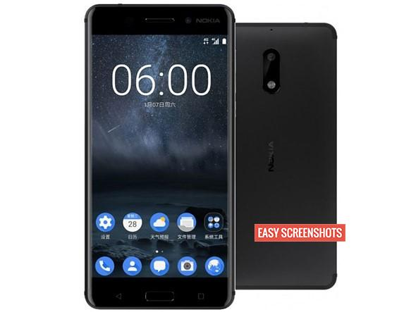 How To take Screenshot on Nokia 6