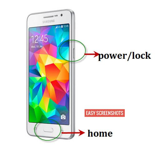 Take Screenshot on samsung galaxy grand prime easy guide
