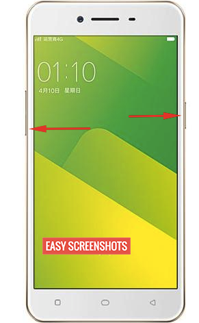 Screenshot on Oppo A37 Help Guide