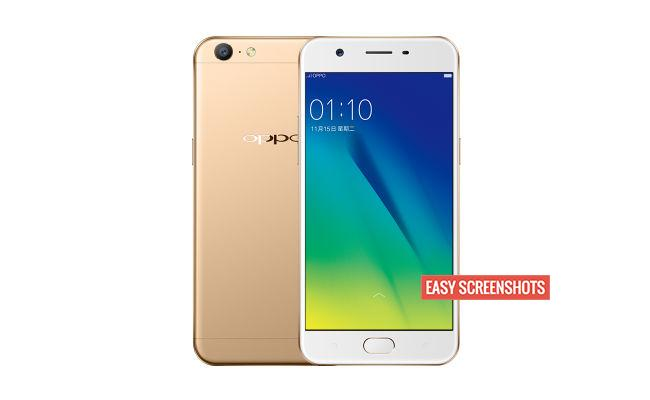 Oppo A57 easystep guide to screenshot help