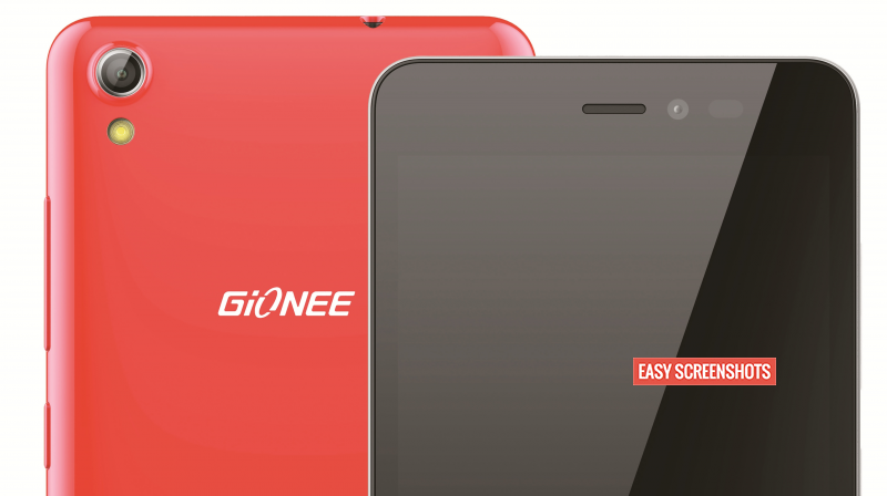 how to take screenshot on Gionee Pioneer P5W using hardware keys
