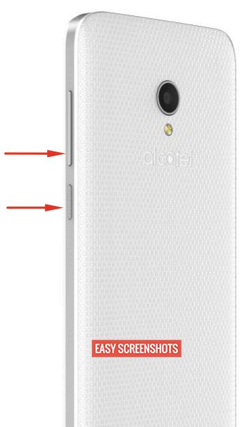 Alcatel U5 screenshot help guide