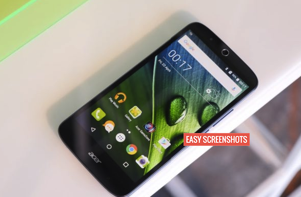 Best methods to take screenshot in Acer Liquid Zest Plus