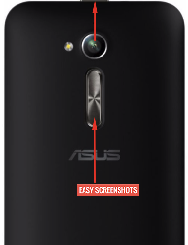 asus zenfone 3 go screenshot guide help